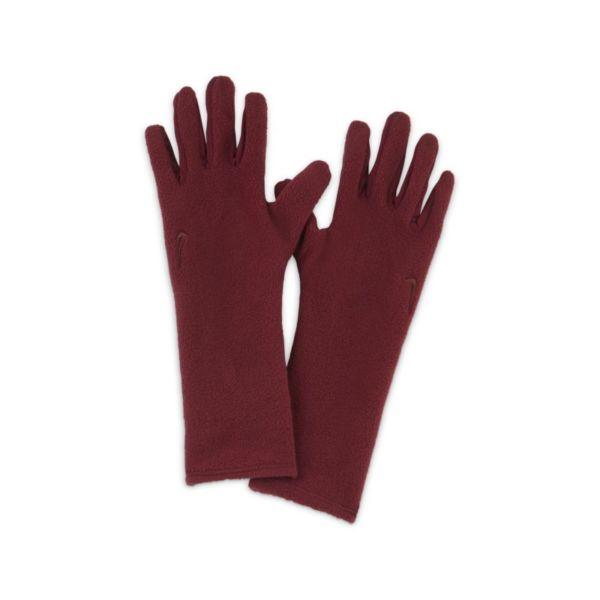 Nike Cold Weather Guantes de tejido Fleece - Rojo