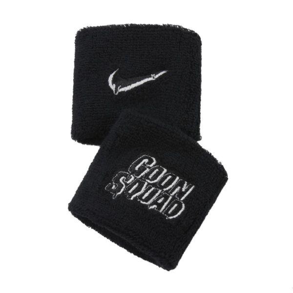 Nike Swoosh x Space Jam: A New Legacy Muñequeras (2 unidades) - Negro