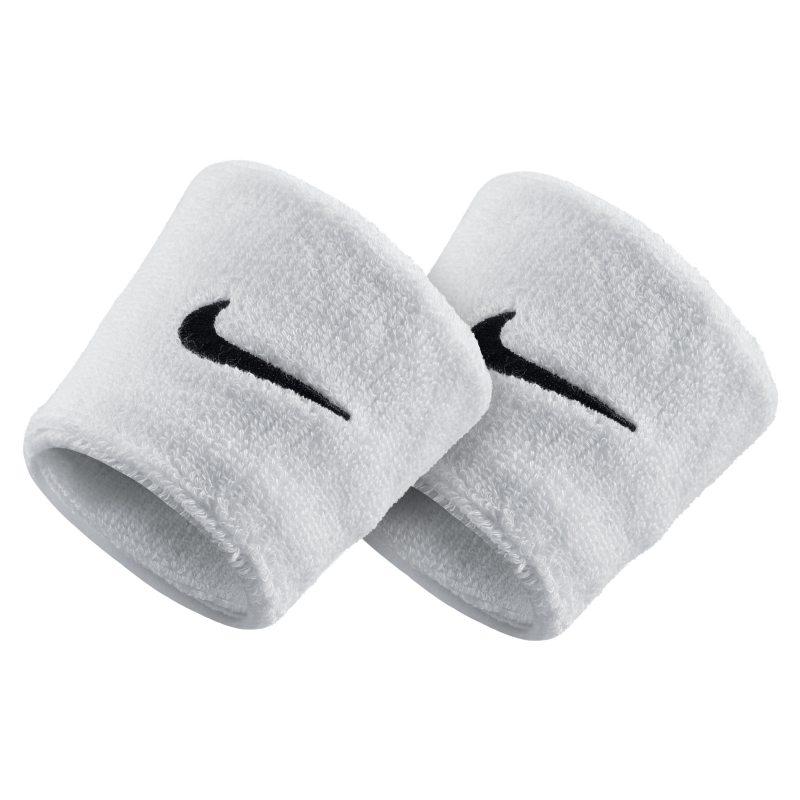 Nike Swoosh Muñequeras - Blanco