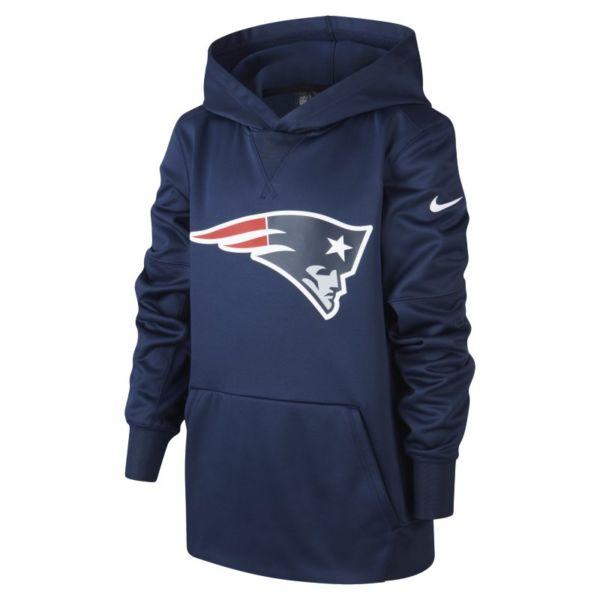 Nike (NFL Patriots) Sudadera con capucha - Niño/a - Azul