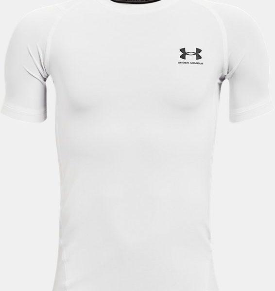 Camiseta de manga corta HeatGear® Armour para niño