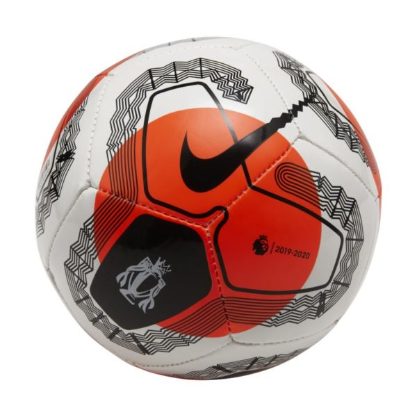 Premier League Tunnel Vision Skills Balón de fútbol - Blanco