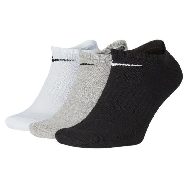 Nike Everyday Cushioned Calcetines cortos de entrenamiento (3 pares) - Multicolor