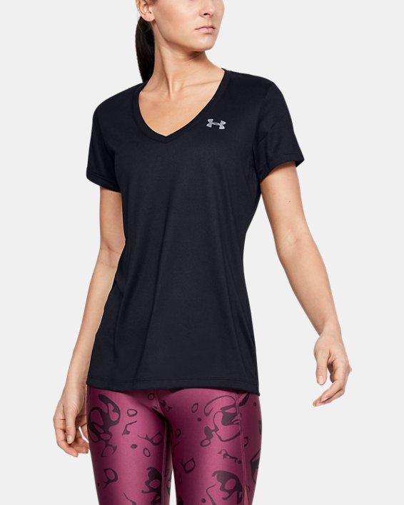Camiseta con cuello de pico UA Tech™ para mujer