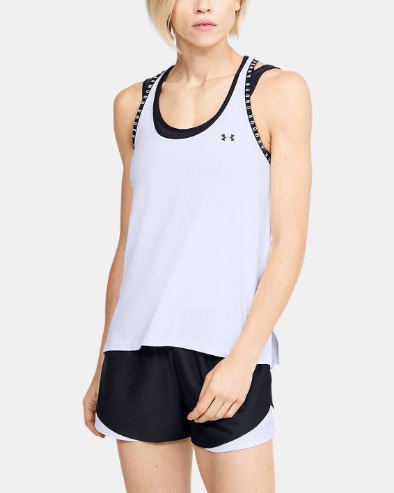 Camiseta sin mangas UA Knockout para mujer
