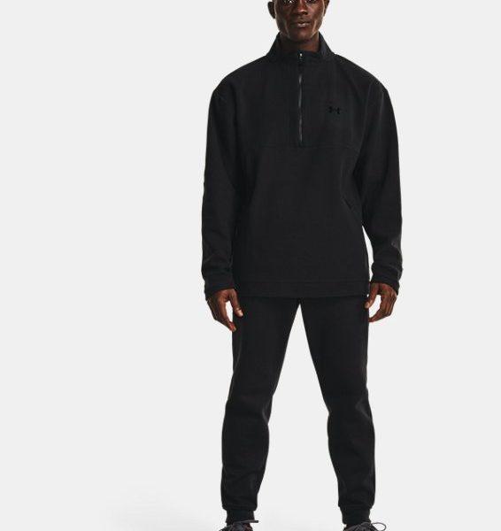 Sudadera con cremallera corta de tejido Fleece UA RECOVER™ para hombre