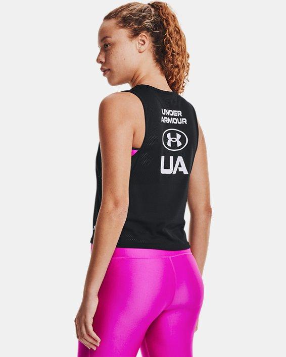 Camiseta sin mangas HeatGear® Armour Muscle Mesh para mujer