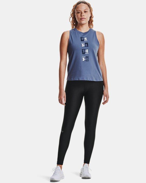 Camiseta sin mangas UA Repeat Muscle para mujer