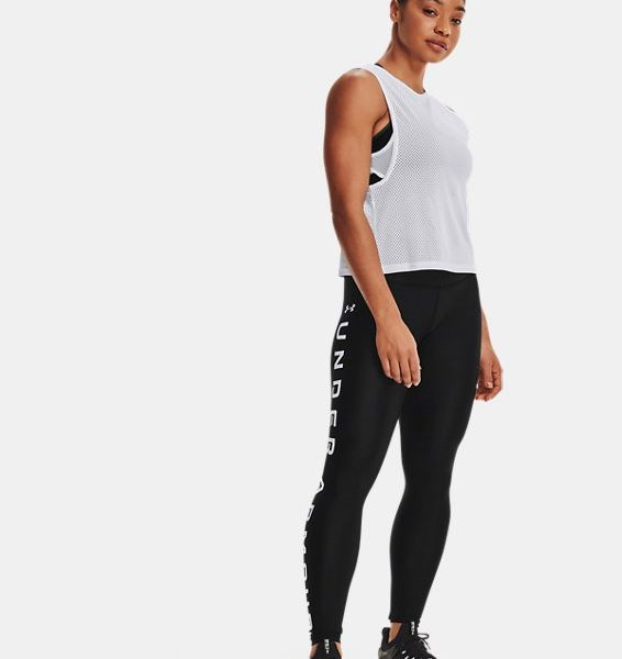 Leggings HeatGear® Armour No-Slip Waistband Branded Full-Length para mujer