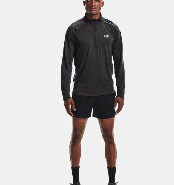Camiseta con media cremallera UA Streaker Run para hombre