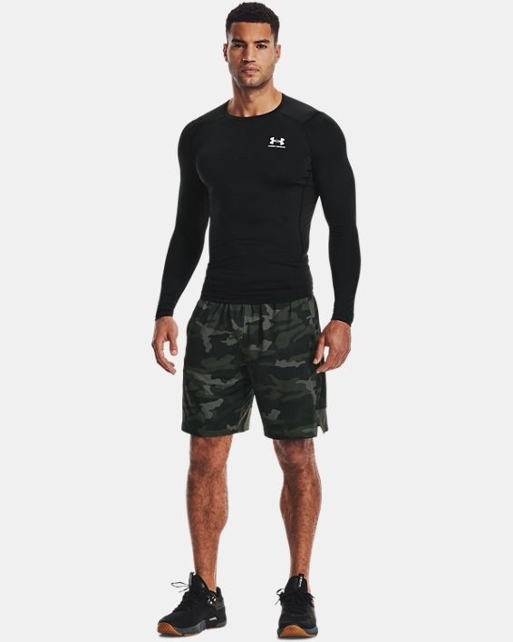 Camiseta de manga larga HeatGear® Armour para hombre