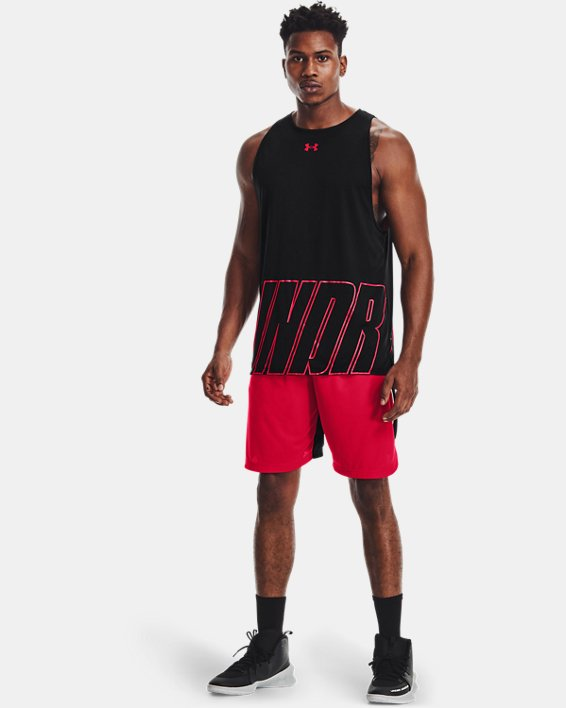 Camiseta sin mangas UA Baseline Reversible para hombre