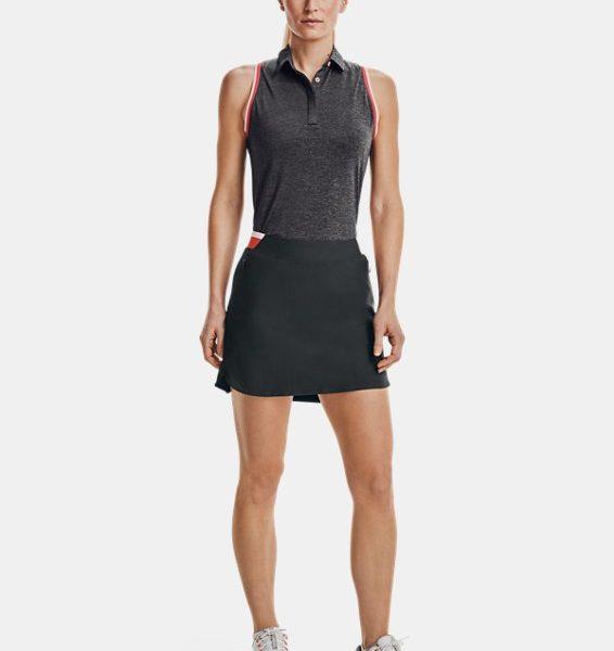 Polo UA Zinger Sleeveless Tipped para mujer