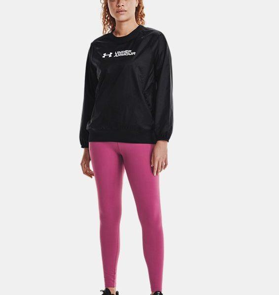Camiseta UA RECOVER™ Woven Shine para mujer
