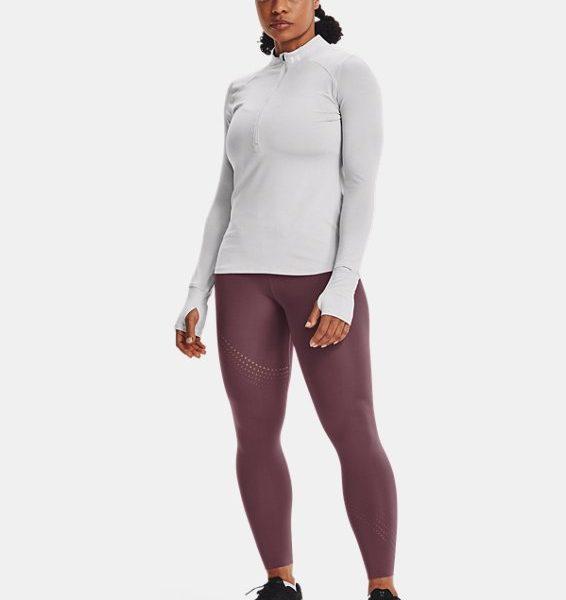 Camiseta con media cremallera UA Qualifier Run 2.0 para mujer