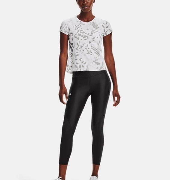 Camiseta de manga corta UA Iso-Chill 200 Print para mujer