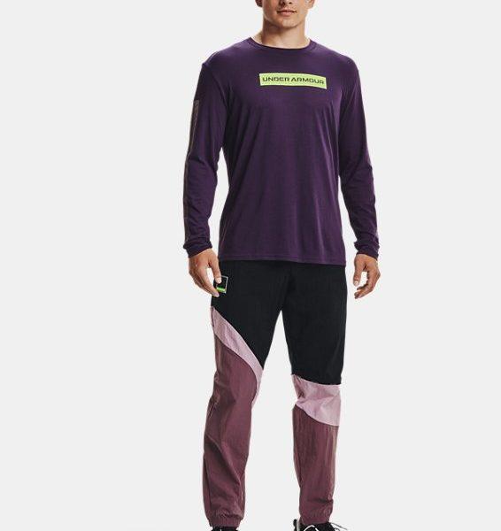 Camiseta de manga larga UA 21230 Swerve para hombre