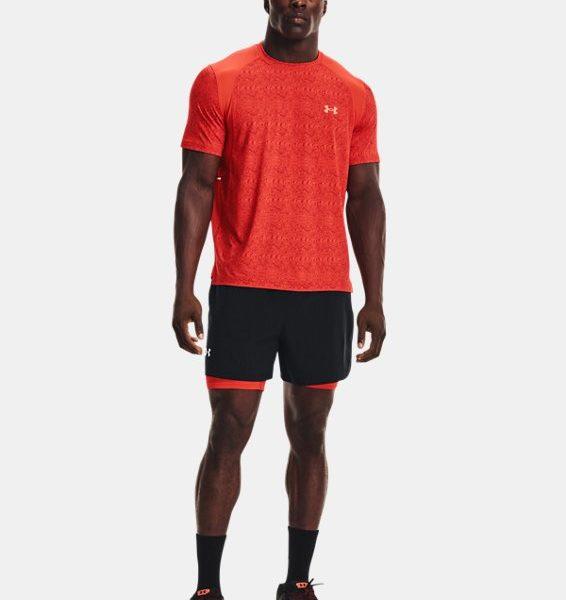 Camiseta de manga corta UA Iso-Chill Run 200 Print para hombre