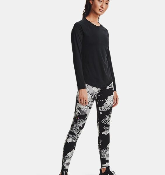 Camiseta de manga larga UA RUSH para mujer