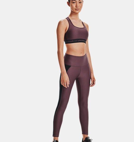 Leggings HeatGear® Armour Panel Ankle para mujer