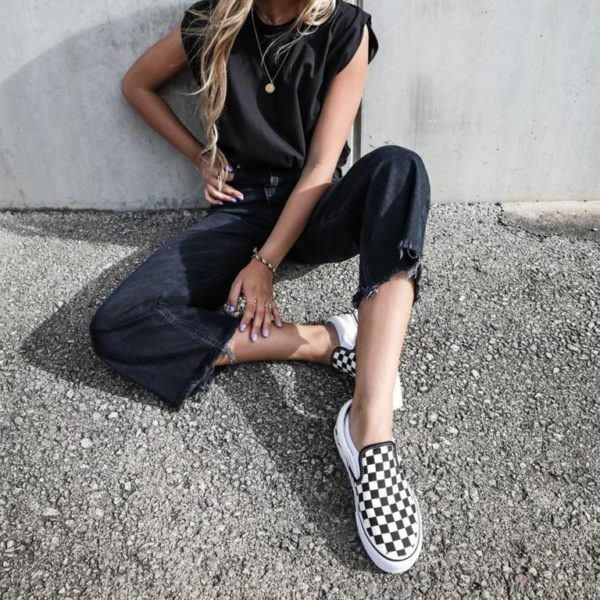 Zapatillas Vans Slip On plataforma