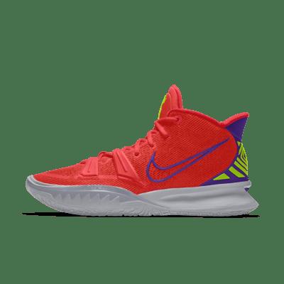 Kyrie 7 By You Zapatillas de baloncesto personalizables - Naranja