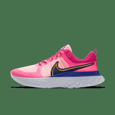 Nike React Infinity Run Flyknit 2 By You Zapatillas de running personalizables - Mujer - Rosa